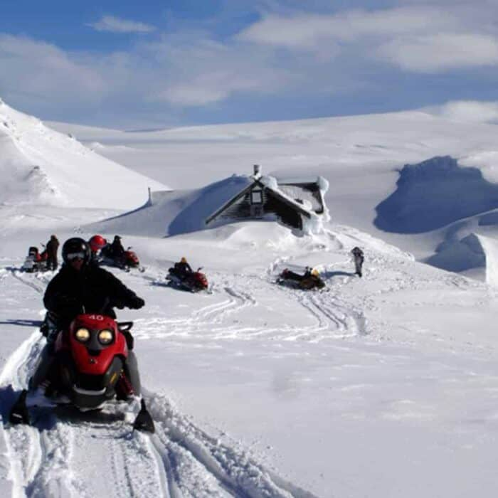 Ever done snowmobiling in Iceland?