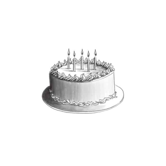 Birthday Cake For 4