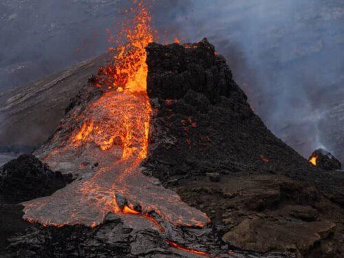 Iceland Volcano Eruption in 2021